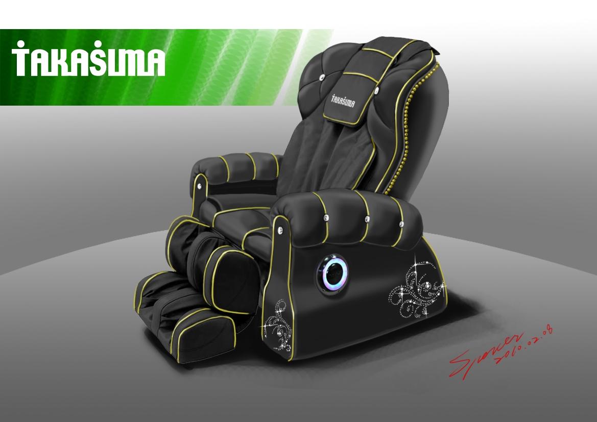 массажное кресло VIP BLACK DIAMOND