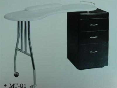 Стол для маникюра с одной тумбой